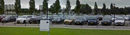 plattegrond parkeerplaats jaarbeurs utrecht